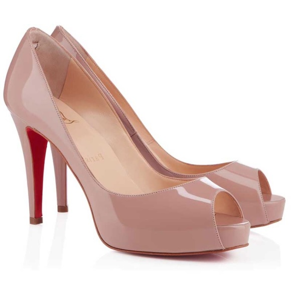 quality design a9878 2fc57 Christian Louboutin Very Prive 100mm AUTHENTIC